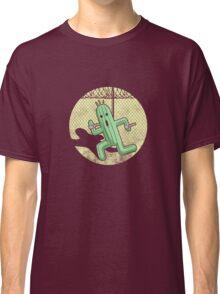 Escape from Cactuar Island- Final Fantasy Parody Classic T-Shirt
