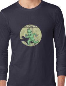 Escape from Cactuar Island- Final Fantasy Parody Long Sleeve T-Shirt