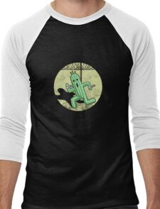 Escape from Cactuar Island- Final Fantasy Parody Men's Baseball ¾ T-Shirt