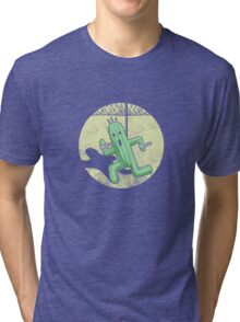 Escape from Cactuar Island- Final Fantasy Parody Tri-blend T-Shirt