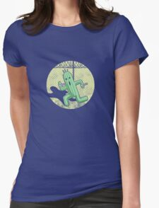 Escape from Cactuar Island- Final Fantasy Parody Womens Fitted T-Shirt