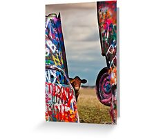 Cadillac Cows III Greeting Card