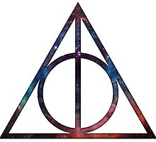 Harry Potter - Deathly Hollows (Space Nebula) by BenH4
