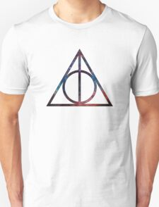 Harry Potter - Deathly Hollows (Space Nebula) T-Shirt