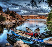 Canoe Posse by Bob Larson