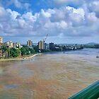 Brisbane flooding by Kym Howard