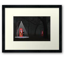 Searching for R.R. Hood Framed Print
