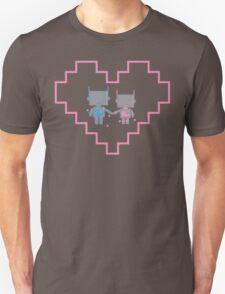 Robot Love Blossoms T-Shirt