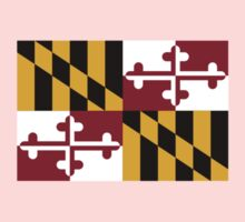 Maryland USA State Flag Baltimore Annapolis Duvet Cover T-Shirt Sticker Kids Tee