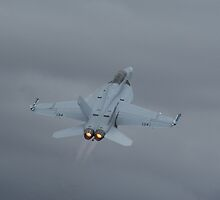 Super Hornet afterburners on by Bairdzpics