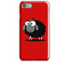 Black Sheep Cartoon Funny T-Shirt Sticker Duvet Cover iPhone Case/Skin