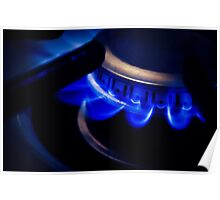 Igniting the Blue Flame Poster