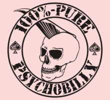 Pure Psychobilly - Black Stamp One Piece - Short Sleeve