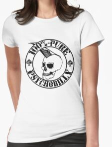 Pure Psychobilly - Black Stamp Womens Fitted T-Shirt