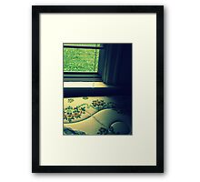 as it turned out Framed Print