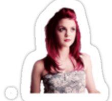 Kathyryn Prescott Sticker Sticker