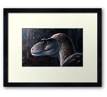 Dreadful Lizard - Gorgosaurus Framed Print