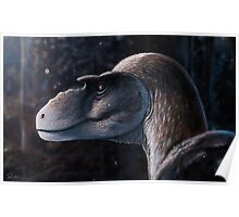 Dreadful Lizard - Gorgosaurus Poster