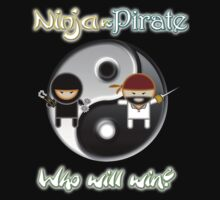 Ninjas Vs Pirates by mime666