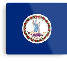 Virginia USA State Richmond Flag Bedspread T-Shirt Sticker Metal Print