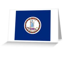 Virginia USA State Richmond Flag Bedspread T-Shirt Sticker Greeting Card