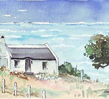 A dream cottage by the sea by Maree  Clarkson
