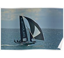 LEXUS 18FT SKIFF -EASTER SUNDAY -LARGS BAY 2015 Poster