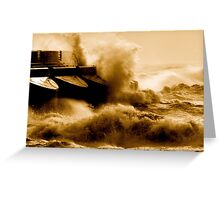 mad sea series picture 10 Greeting Card