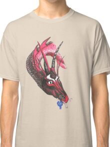 Dragon eating Tory Classic T-Shirt