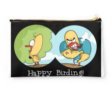 Happy Birding- Birdwatching Mug Studio Pouch