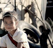 Those Eyes, that smile. Laos by Aiwei Yu