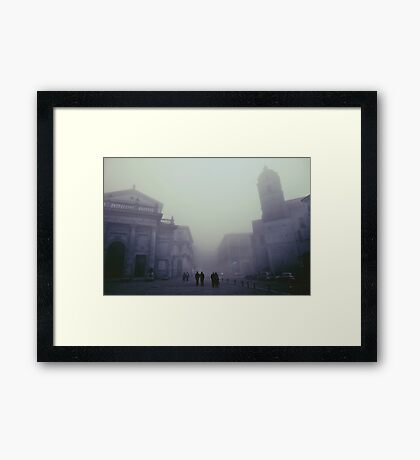 Lanciano, 100 years ago Framed Print