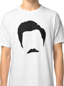 Swanson Mustache Man Classic T-Shirt