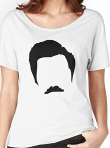 Swanson Mustache Man Women's Relaxed Fit T-Shirt