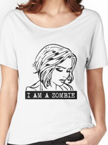i am a zombie Women's Relaxed Fit T-Shirt