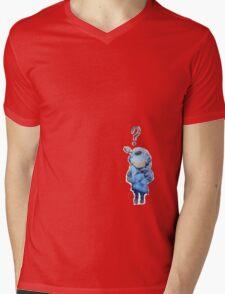 Banksy Lil Diver Mens V-Neck T-Shirt