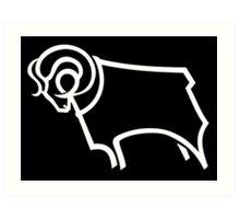 Derby County F.C. Art Print