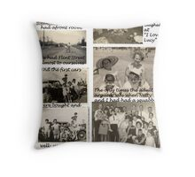 Migration - A Personal Experience - Part Two Throw Pillow