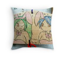 Hoping to Get Lucky Throw Pillow