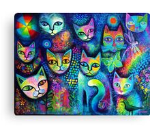 Magicats Canvas Print