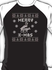 Reindeer Merry Christmas T-Shirt