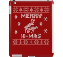Reindeer Merry Christmas iPad Case/Skin