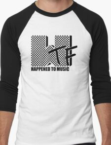 WTF Happened To Music Men's Baseball ¾ T-Shirt