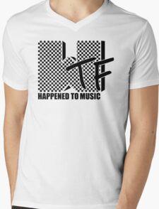 WTF Happened To Music Mens V-Neck T-Shirt