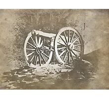 An Old Cannon Photographic Print