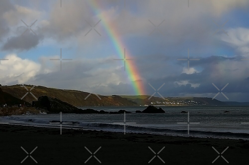 Rainbow over Seaton by Country  Pursuits