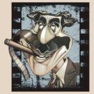 Groucho Marx by El Gran Toñeti
