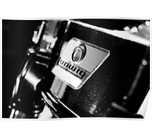 Ludwig Snare Drum Poster