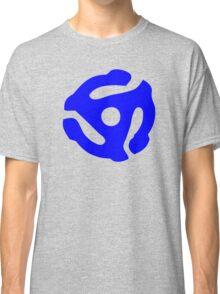 Blue 45 RPM Vinyl Record Holder Classic T-Shirt