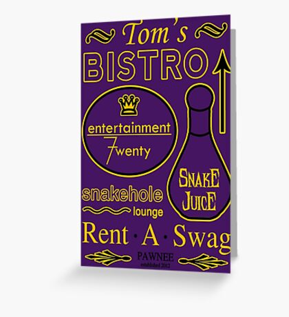 Businessman Tom Greeting Card